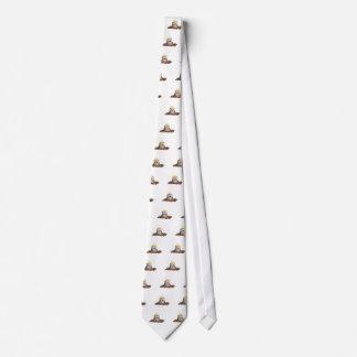 Gravata Desenhos animados de escavação da toupeira bonito