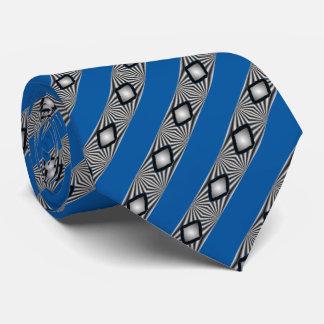 Gravata Diamantes com listras
