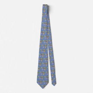 Gravata do azul da Abundante-Ardósia das preguiças