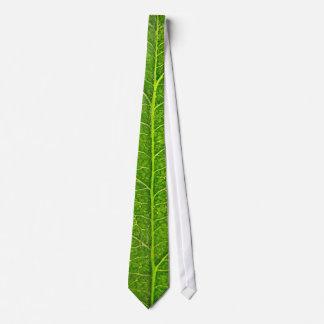 Gravata folha verde