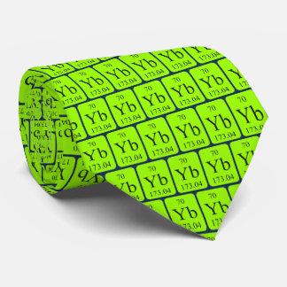 Gravata Gráficos transparentes do laço do Ytterbium do