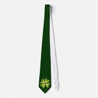 Gravata Irlandês afortunado do trevo dos trevos do dia de