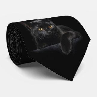 Gravata Laço do gato preto