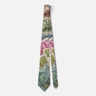 Gravata Laço do partido do dinheiro