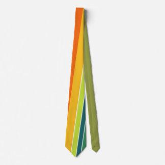 Gravata Laço Multicoloured da listra vertical
