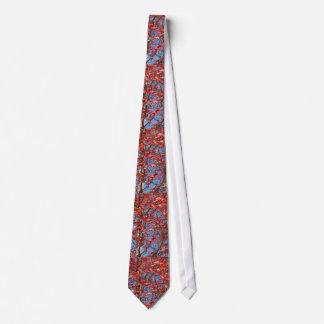 Gravata Laço vermelho da folha de bordo