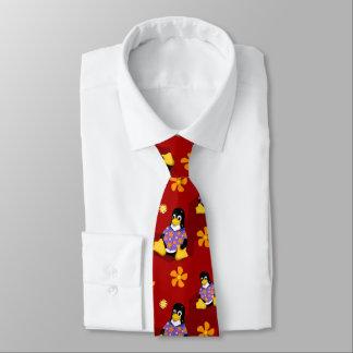 Gravata Laço vermelho ocasional da listra de Tux