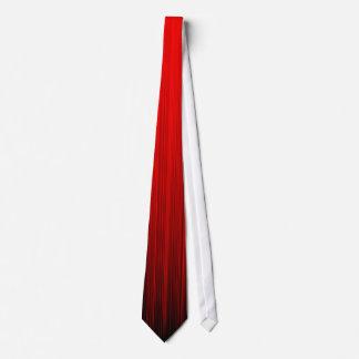 Gravata O curso da escova desvanece-se vermelho
