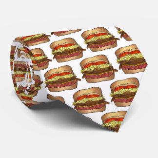 Gravata PA de Foodie do sanduíche de PGH Pittsburgh