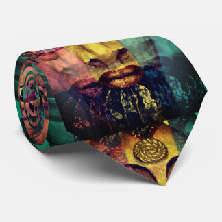Gravata Pintura bonita da deusa egípcia