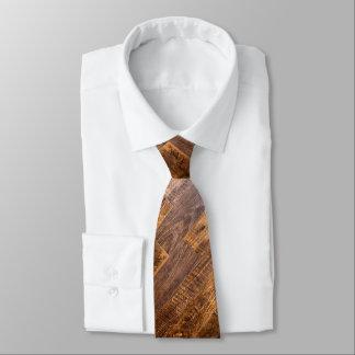 Gravata Pranchas de madeira