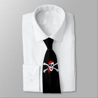 Gravata Traje de cerimónia do crânio do pirata