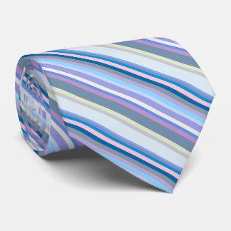Gravata Verde multicolorido/cinzas/bege/rosa/roxo/azul
