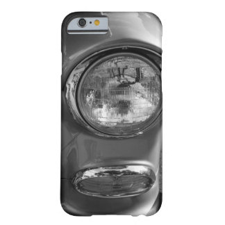 Grayscale do farol de 55 Chevy Capa Barely There Para iPhone 6