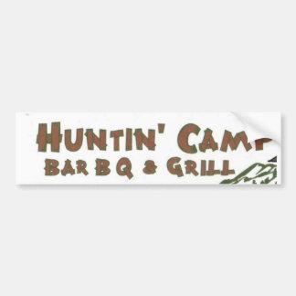 Grelha do acampamento de Huntn & autocolante no vi Adesivo Para Carro