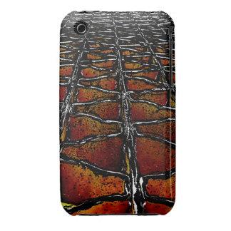 Grelhas do metal pesado capas iPhone 3