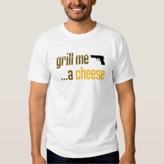 Grelhe-me um queijo camiseta