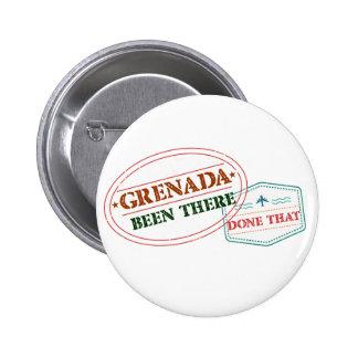 Grenada feito lá isso bóton redondo 5.08cm