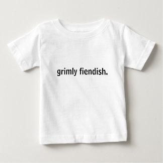 grimly fiendish. t-shirt