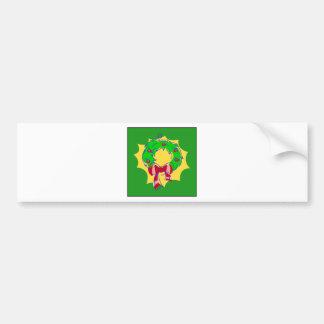 Grinalda - bkgd verde adesivo para carro