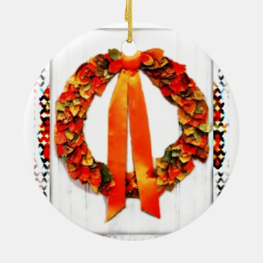 Grinalda da queda ornamento para arvores de natal