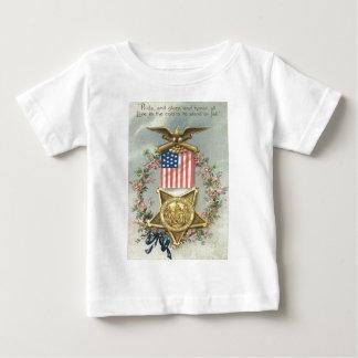 Grinalda de Eagle da medalha da guerra civil da Camiseta