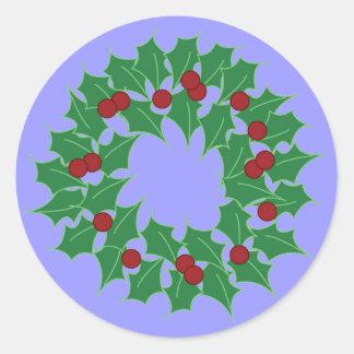 Grinalda do feriado adesivo