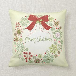 Grinalda do Natal Travesseiro