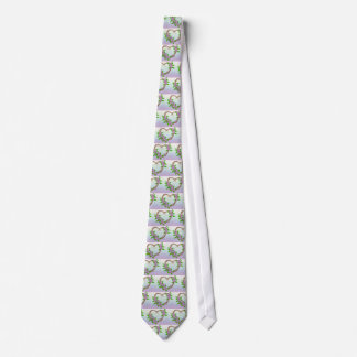 Grinalda floral gravata