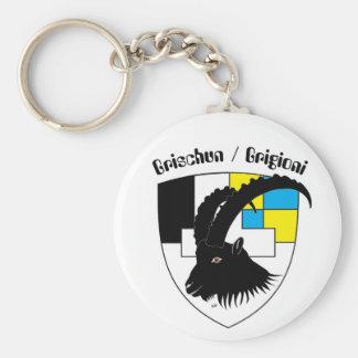 Grischun Svizra porta-chaves Chaveiros