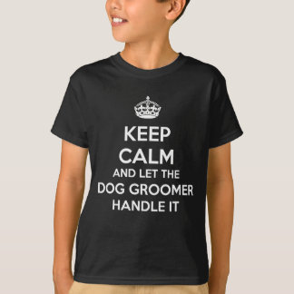 GROOMER DO CÃO CAMISETA