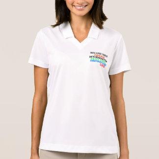 Groundzoomlife SOBRE - torna-se seu sonho Camisa Polo