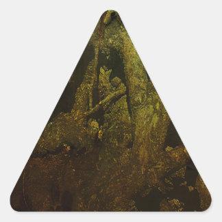 Grunge Adesivo Triangular