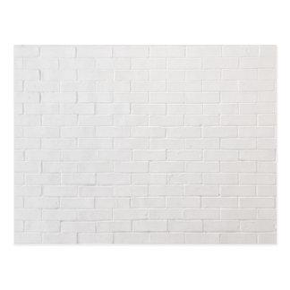 Grunge cinzento branco da textura dos tijolos da cartão postal