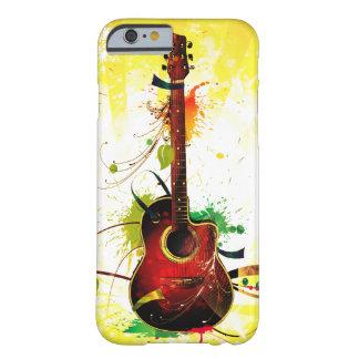 Grunge da guitarra acústica capa barely there para iPhone 6
