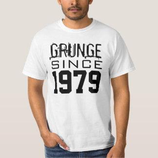 """GRUNGE desde """"sua data de nascimento """" Camisetas"""