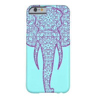 Grunge do elefante da paz de StellaRoot Capa Barely There Para iPhone 6