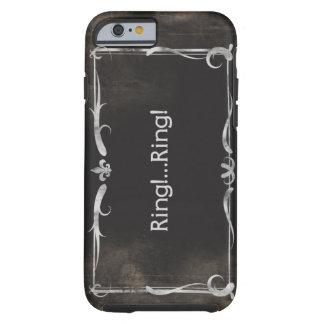 Grunge do vintage do caso do iPhone 6 do título do Capa Tough Para iPhone 6