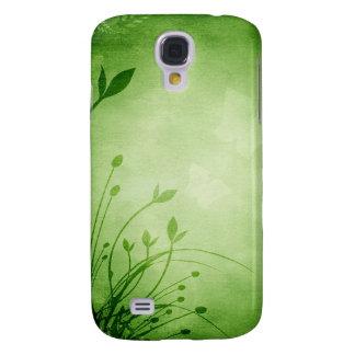 Grunge floral capas personalizadas samsung galaxy s4