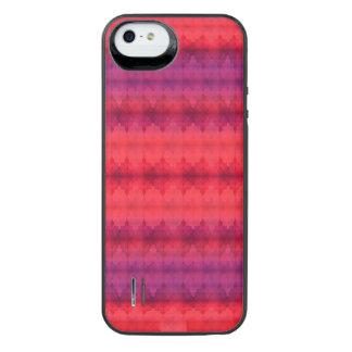 Grunge listrado capa carregador para iPhone SE/5/5s