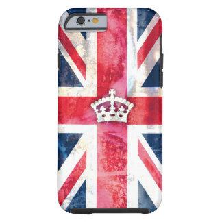 Grunge real da bandeira de 311 Ingleses Capa Tough Para iPhone 6