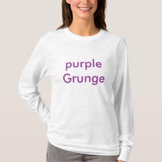 Grunge roxo t-shirts