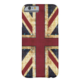 Grunge Union Jack Capa iPhone 6 Barely There