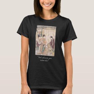 Grupo antes do ukiyo-e da loja dos Seco-bens de Camiseta