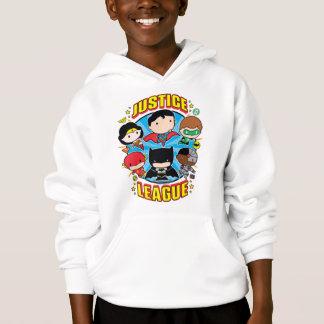 Grupo da liga de justiça de Chibi Camiseta