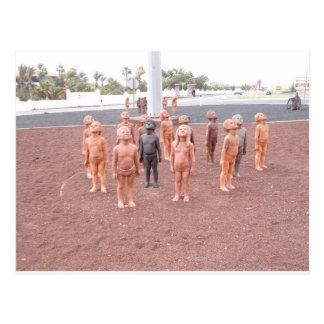 Grupo de menino em Jandia Cartao Postal