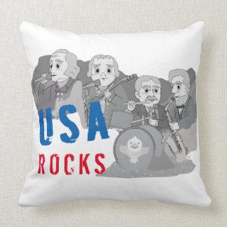 Grupo de rock de Rushmore Almofada