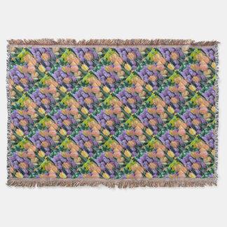 Grupo de tulipas coloridas coberta