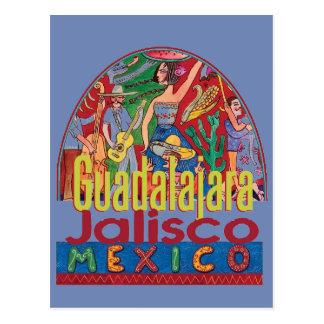 GUADALAJARA México Cartão Postal