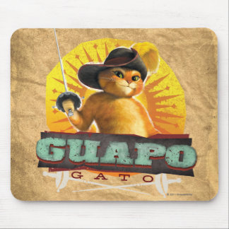 Guapo Gato Mousepad